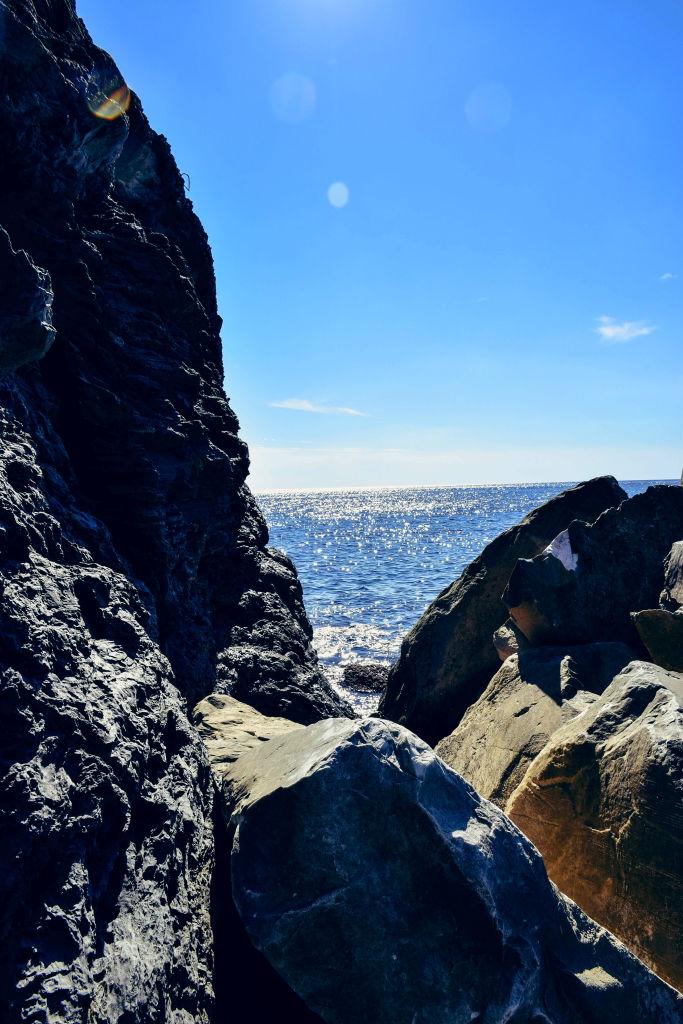 Cinque terre rocks