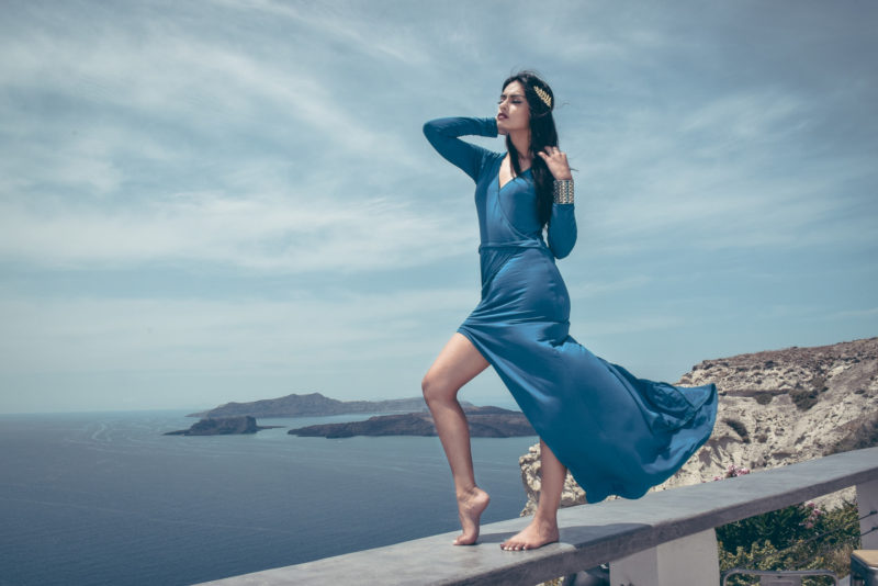 Greek fashion shoot