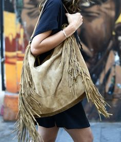10 Ways to Wear the Fringe Trend