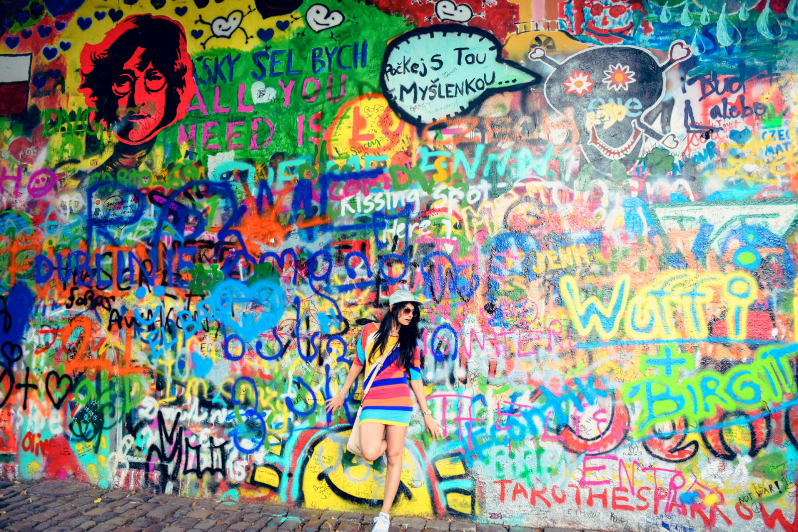 Lennon Wall and some strolling
