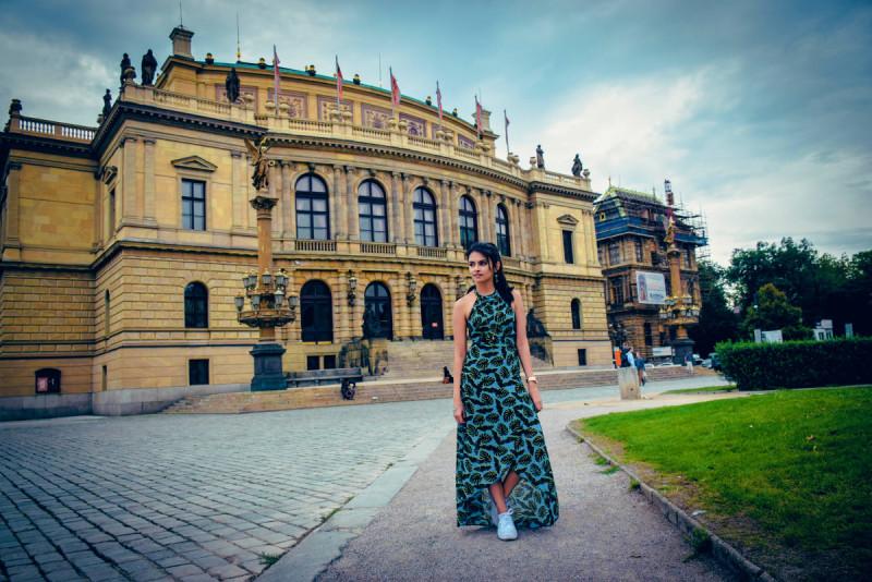 Prague Maxi dress