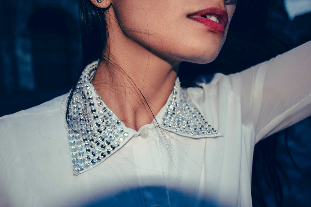 Sequined Collars
