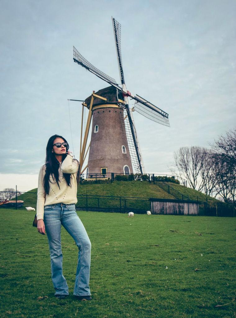 bootcut retro windmill