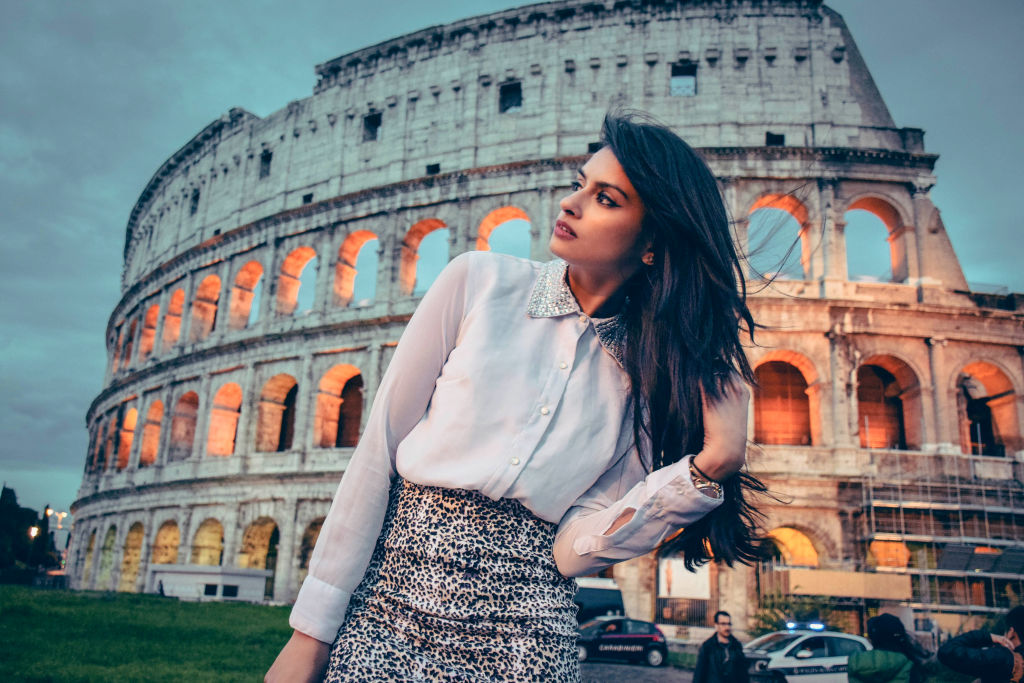 Fashion Shoot Colosseum