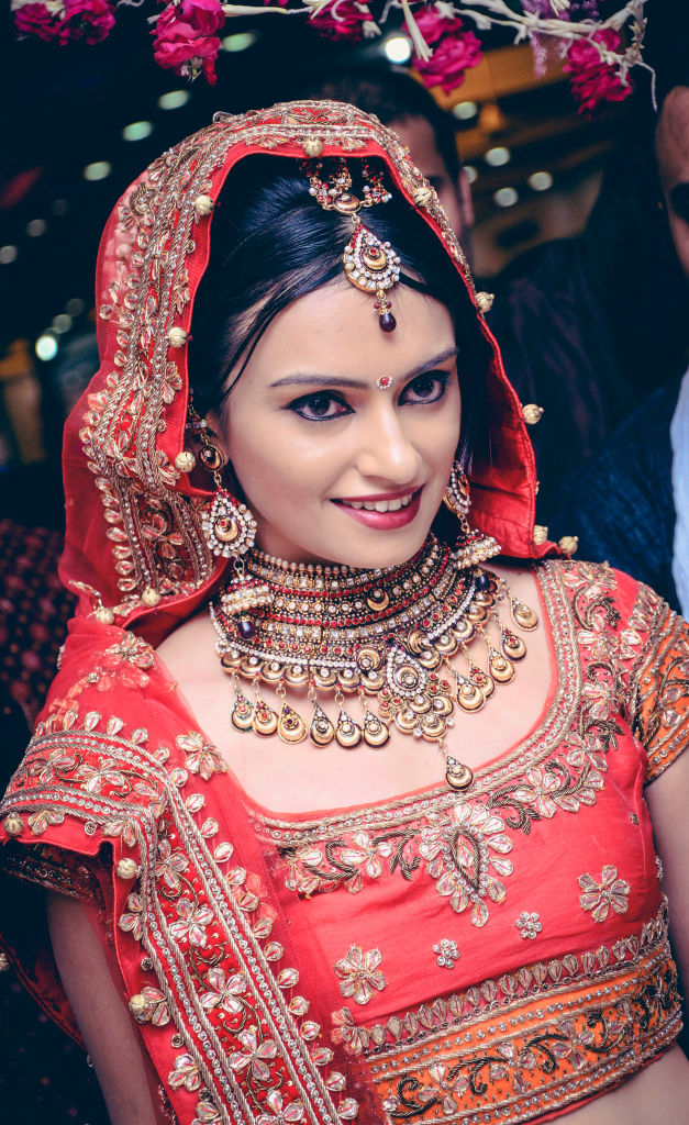 indian wedding bridal makeup