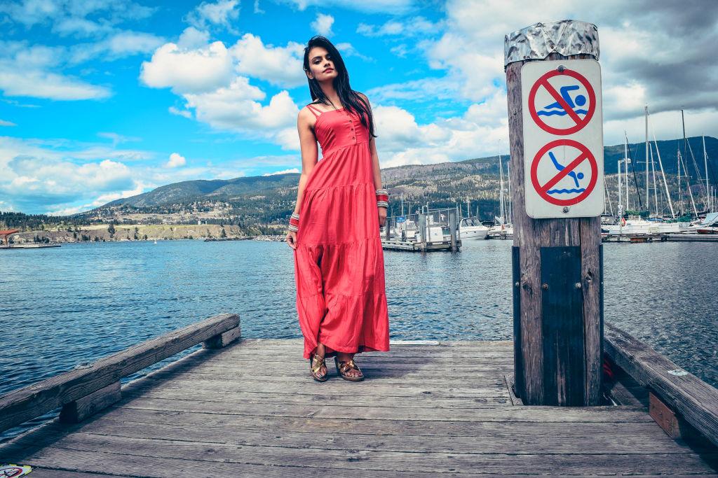 red maxi dress kelowna