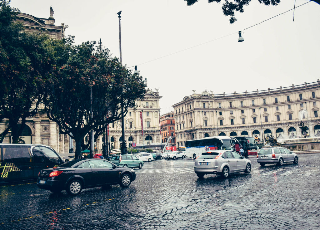 rome roads